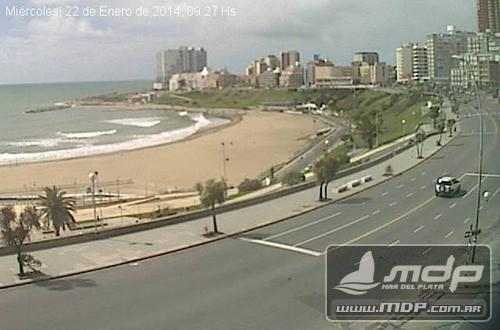 Webcam looking at MDQ's Plaza Colón